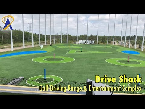 Drive Shack golf driving range in Orlando, Florida