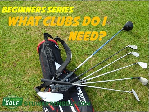 Beginners Series – What Clubs Do I Need?
