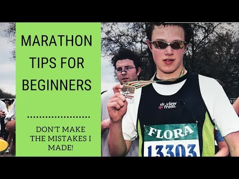 Marathon Training For Beginners – 5 Top Tips – Learn from the Mistakes I Made!!