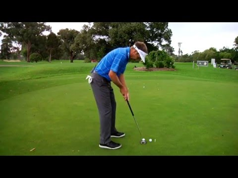Stuart Appleby golf tips – Controlling your long putting speed