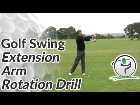 Golf Extension Drill – Arm Rotation Drill