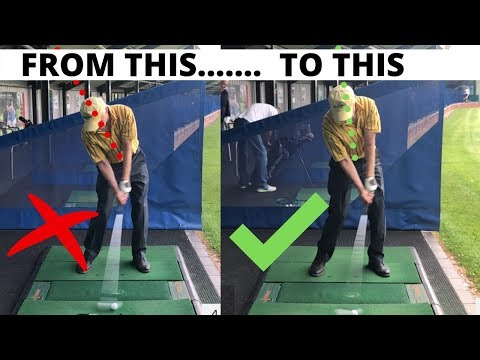 THIS IS HOW A MID HANIDICAPPER COMPLETELY CHANGED HIS SWING LIVE LESSON