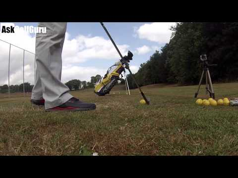 Golf Chipping Height Drill