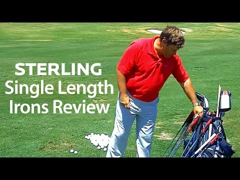 Sterling Single Length Irons Review
