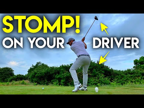 STOMP ON YOUR DRIVER – The hidden force behind longer shots!