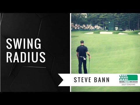 Golf Tip – Swing Radius (with Steve Bann)