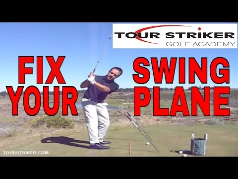 """Golf Pro Drill – Finding the """"Slot"""" on the downswing – Tour Striker at Tetherow"""