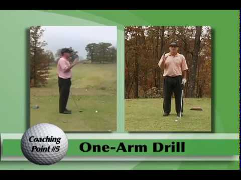 One Arm Drill – Train Your Body to Swing the Arms