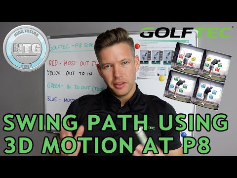 Swing Path using 3D motion at P8 | Golf Tips | Lesson 105