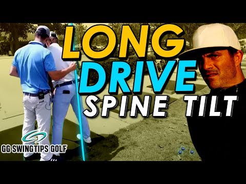 Stabilizing Spine Tilt For Longer Driver Shots