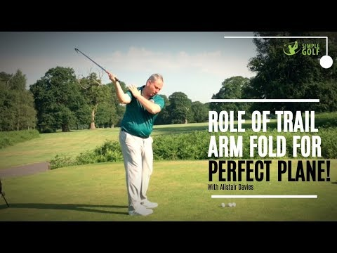 Role of The Right Arm For A Perfect Golf Swing Plane