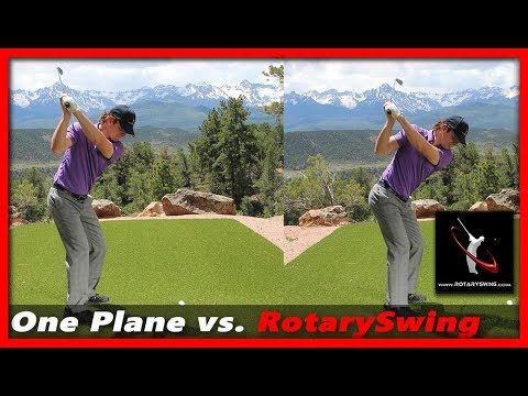 One Plane Golf Swing vs. RotarySwing – What's the Difference?