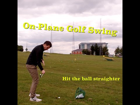 Get Your On-Plane Golf Swing | Carter's Golf Tips
