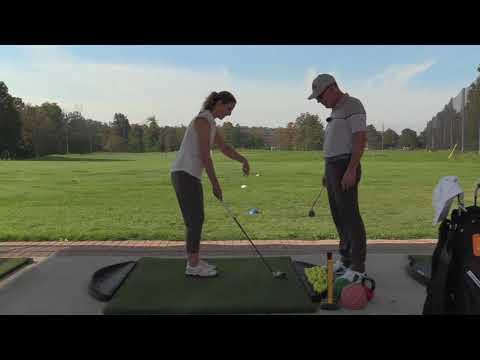 SWING BUILDER SERIES-CHANTAL LEARNS CHIPPING WISDOM | Wisdom in Golf