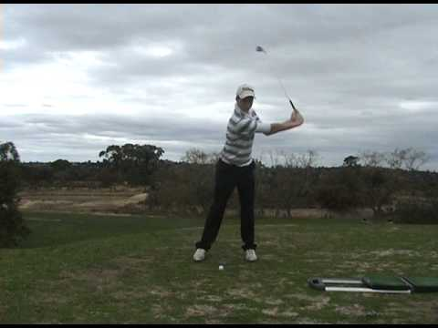 perfect left handed golf swing 2