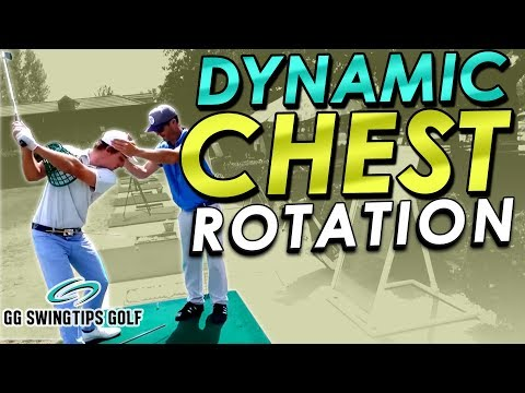Dynamic Chest Rotation For Natural Golf Swings