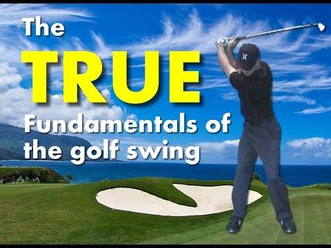 Golf Swing Basics – Why Swing Plane is NOT a Fundamental