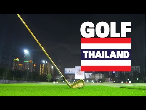 Golf vlog — Driving Range in thailand
