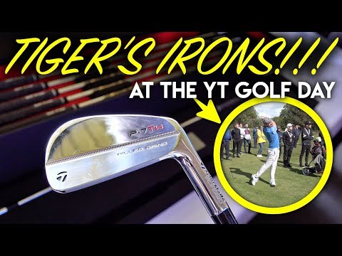 OMG TIGER'S IRONS! YT Golf Day