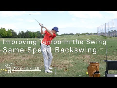 How to Improve Tempo in the Swing – Same Speed Backswing