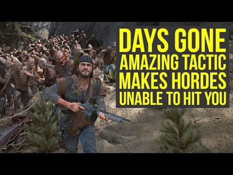 Days Gone Tips And Tricks – Tactic Makes The Hordes Unable to Hit You & More! (Days Gone Horde Tips)