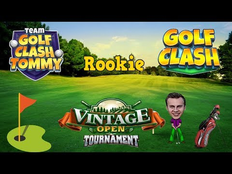 Golf Clash tips, Playthrough, Hole 1-9 – ROOKIE – TOURNAMENT WIND! Vintage Open Tournament!