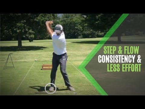 Golf Swing Consistency Tip   Feel The Flow And Use The Ground