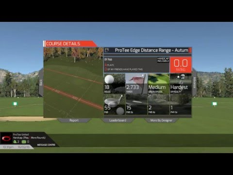TGC How to load a driving range