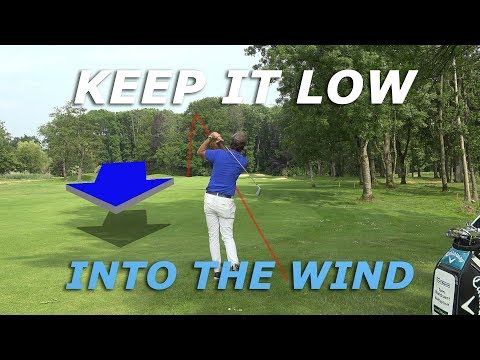 How to play golf against the wind – How to hit a low golf shot