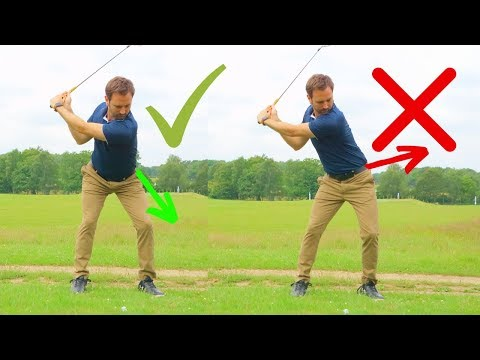HOW TO GET RID OF MISHITTING THE GOLF BALL
