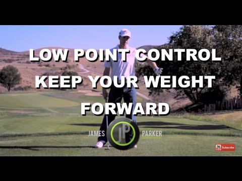 Improve Golf Contact – Keep Your Golf Swing Weight Forward