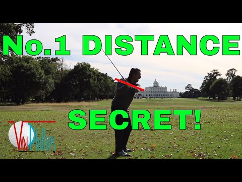 HOW TO GET 'FREE' CLUBHEAD SPEED! (In Golf 2018)