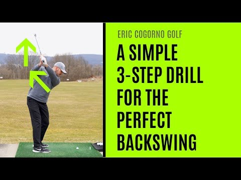 GOLF: A Simple 3-Step Drill For The Perfect Backswing