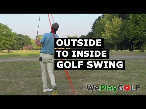 Outside to Inside golf swing – How can you swing from out to in?