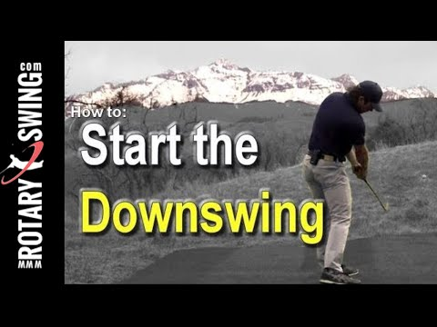 How to Start the Golf Downswing Correctly – One Simple Move