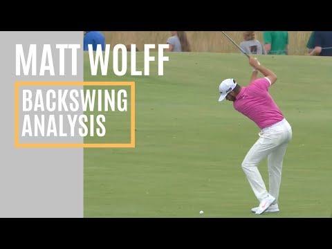 MATT WOLFF BACKSWING ANALYSIS-GOLF WRX-WISDOM IN GOLF