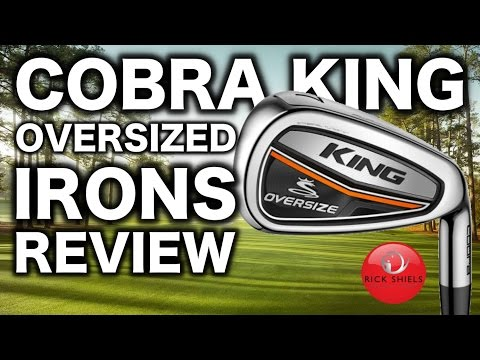 NEW 2017 COBRA KING OVERSIZED IRONS REVIEW