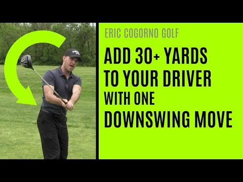 GOLF: How To Add 30+ Yards To Your Driver With One Downswing Move
