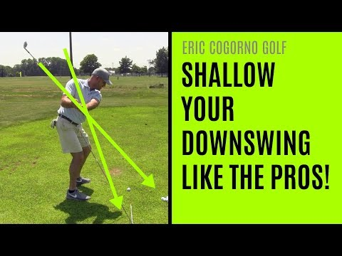 GOLF: Shallow Your Downswing Like The Pros