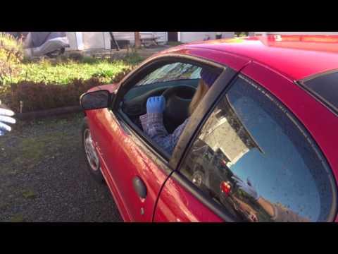 How To: Repair / fix sagging car door that won't close properly. hinge problem