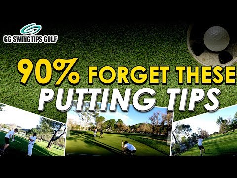Putting Tips 90% Of Golfers FORGET🤦♂️