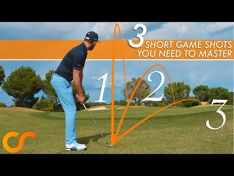 3 SHORT GAME SHOTS YOU NEED TO MASTER