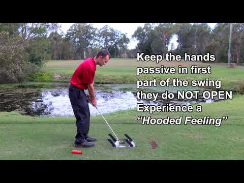 Improving your takeaway, swing plane and backswing