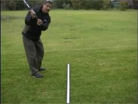 Golf swing tips, golf lessons Melbourne, golf swing plane drill.