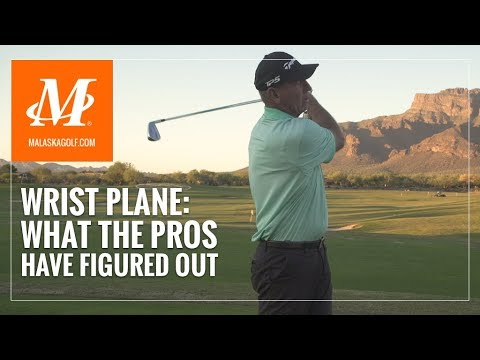 Malaska Golf // Wrist Plane in the Golf Swing – What the Pros have figured out