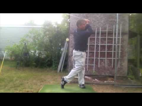 Simple Single Plane Golf Swing vs Conventional Golf Swing – Practice Session