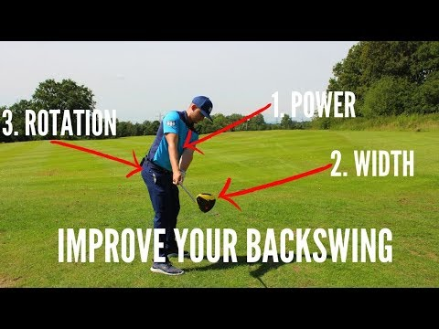 THE DRILL FOR THE PERFECT BACKSWING