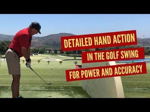Detailed Hand Action Through the Impact Zone of the Golf Swing