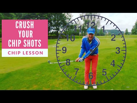 Crush your Chip Shots! Chipping lesson.