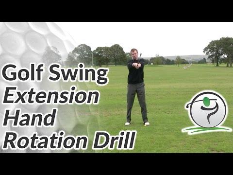 Golf Extension Drill – Hand Rotation Drill